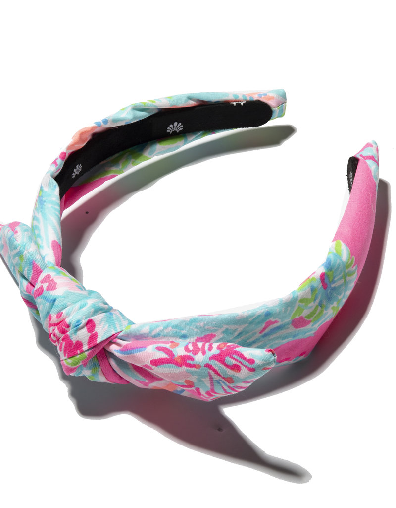LILLY PULITZER 009074-606372 KIDS KNOTTED HEADBAND SEEING THINGS