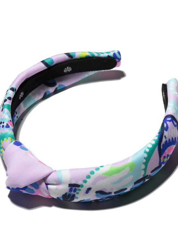 LILLY PULITZER KIDS KNOTTED HEADBAND MERMAID FOR YOU