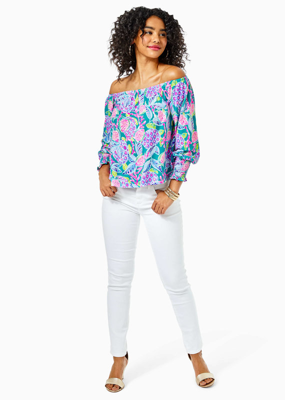 LILLY PULITZER LANA TOP