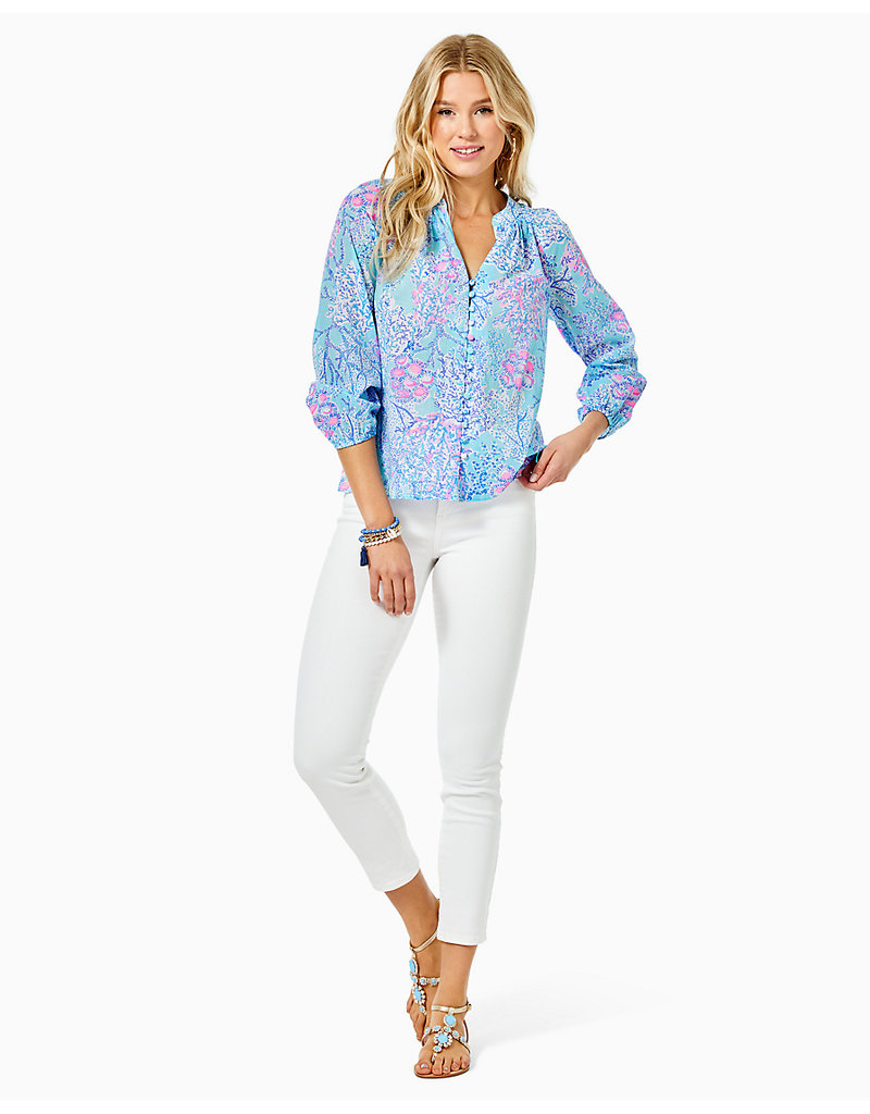 LILLY PULITZER summer2021 008136 COLEMAN TOP
