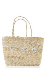 JOSEPHINE ALEXANDER Mauritius cowrie shell tote bag