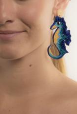 JOSEPHINE ALEXANDER bahama blue seahorse