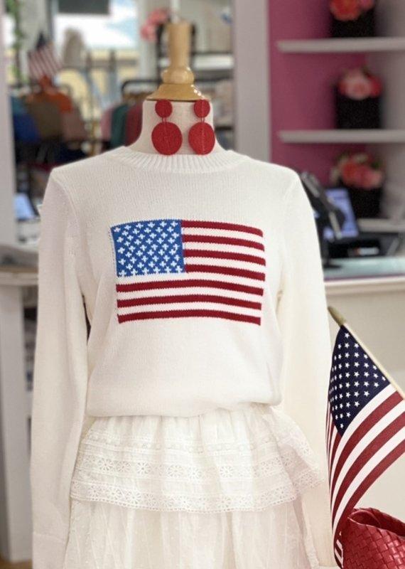 SAIL TO SABLE SU2113W Flag Sweater