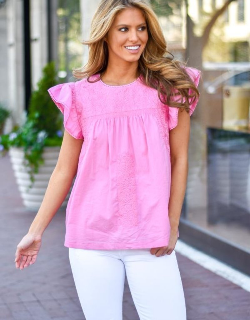 J. MARIE JM1825 Mary Kate Top