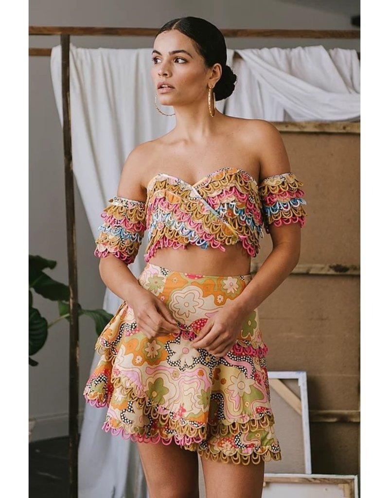 celia b ss21-cb-s05 Corazon Skirt