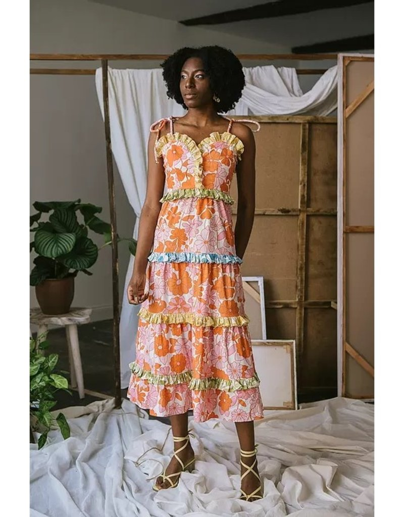 celia b ss21-cb-d23 Dalia Dress