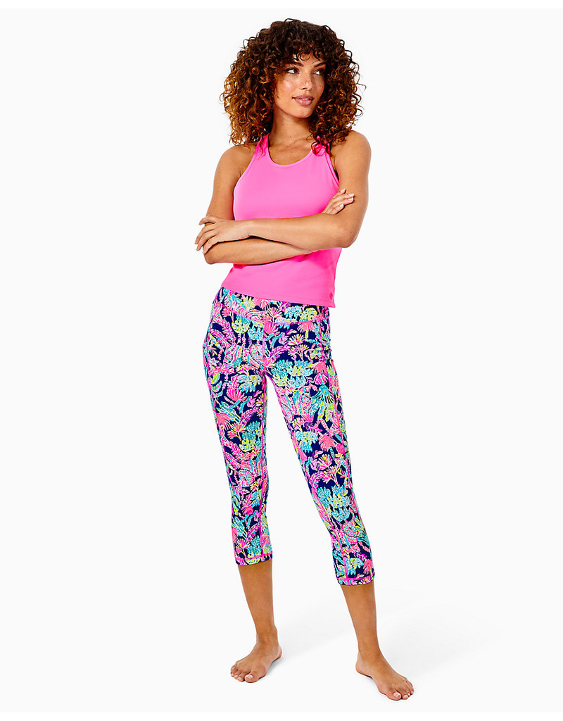 LILLY PULITZER F21 004682 WEEKENDER HIGH RISE CROP