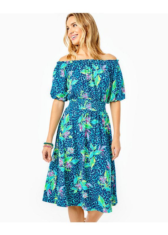 LILLY PULITZER CAMILLE KNEE LENGTH DRESS