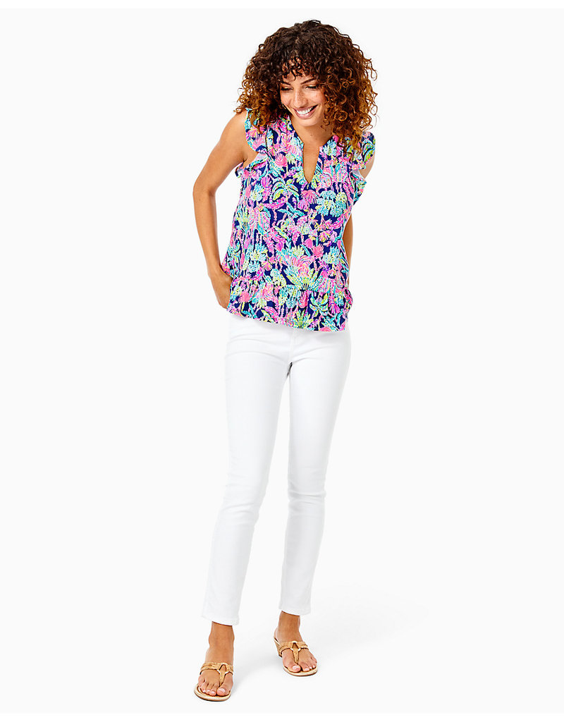 LILLY PULITZER F21 008461 LACIE TOP