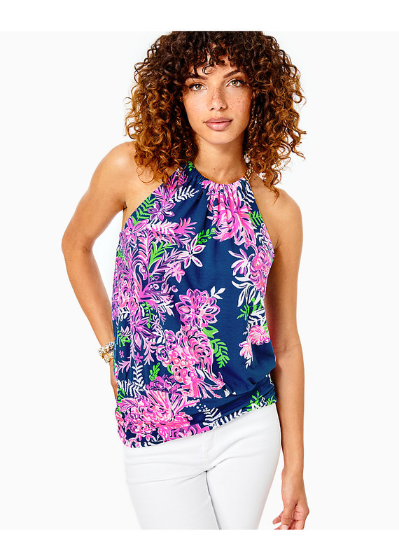 LILLY PULITZER BOWEN TOP