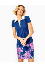 LILLY PULITZER F21 008582 FRIDA PUFF SLEEVE POLO UP