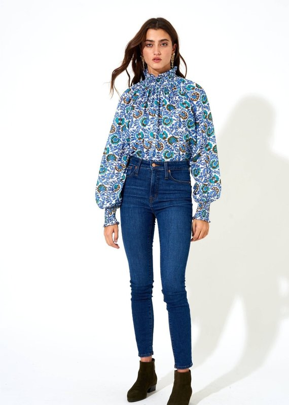 OLIPHANT High neck blouse