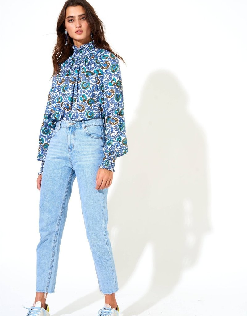OLIPHANT 3024w High neck blouse