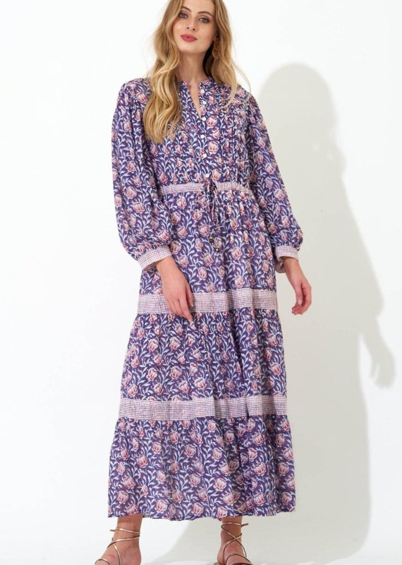 OLIPHANT Pintuck Cinched Maxi