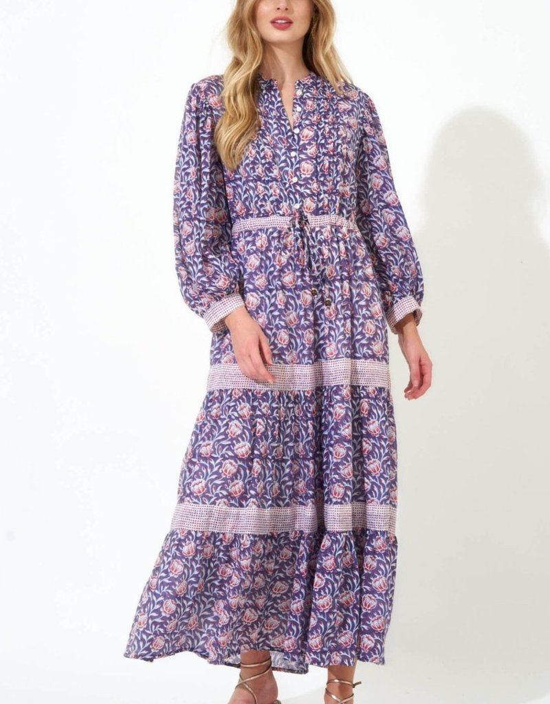 OLIPHANT 3046w Pintuck Cinched Maxi