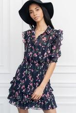 theshirt the ruffled tier mini dress