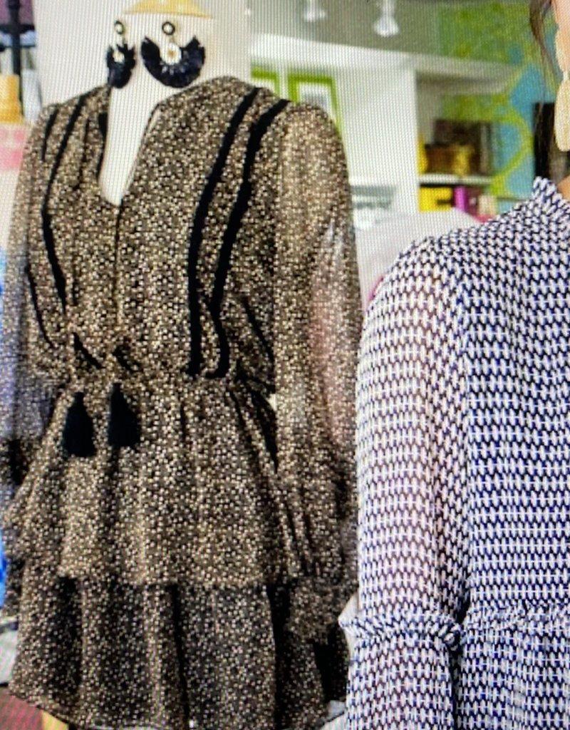 allison NY SA21004J2 Tiered LS dress