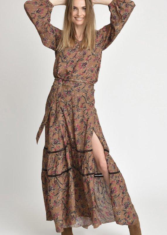 Muche et Muchette Hugo floral wrap skirt