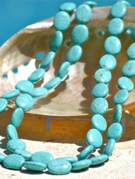 SASHA LICKLE TURQUOISE STONE NECKLACE