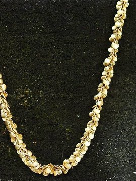 SASHA LICKLE TINY GOLD SEASHELL NECKLACE