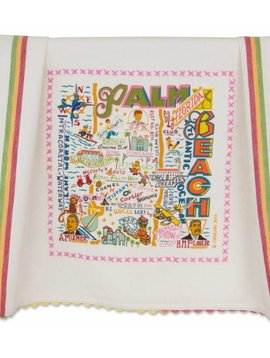 CAT STUDIOS PALM BEACH DISH TOWEL