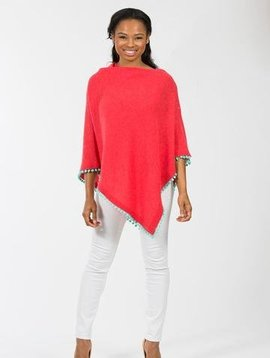 POM POM CASHMERE DRESS TOPPER