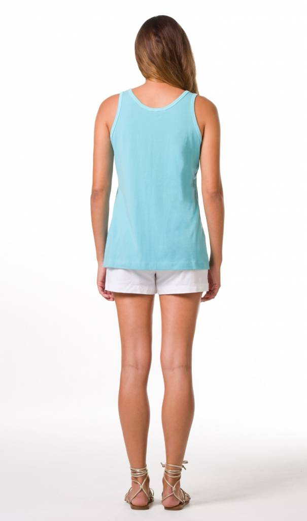 TORI RICHARD Pima Tank Top