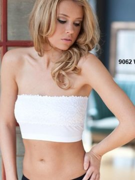 THE COOBIE STORE STRAPLESS LACE BANDEAU