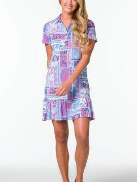 TORI RICHARD APRIL DRESS
