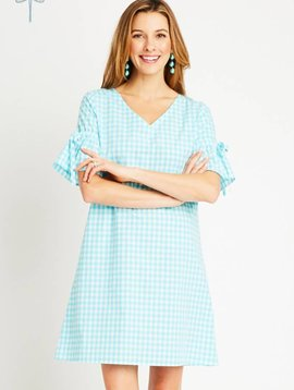 TYLER BOE CASEY GINGHAM  DRESS