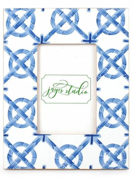 SMALL BAMBOO TRELLIS PHOTO FRAME