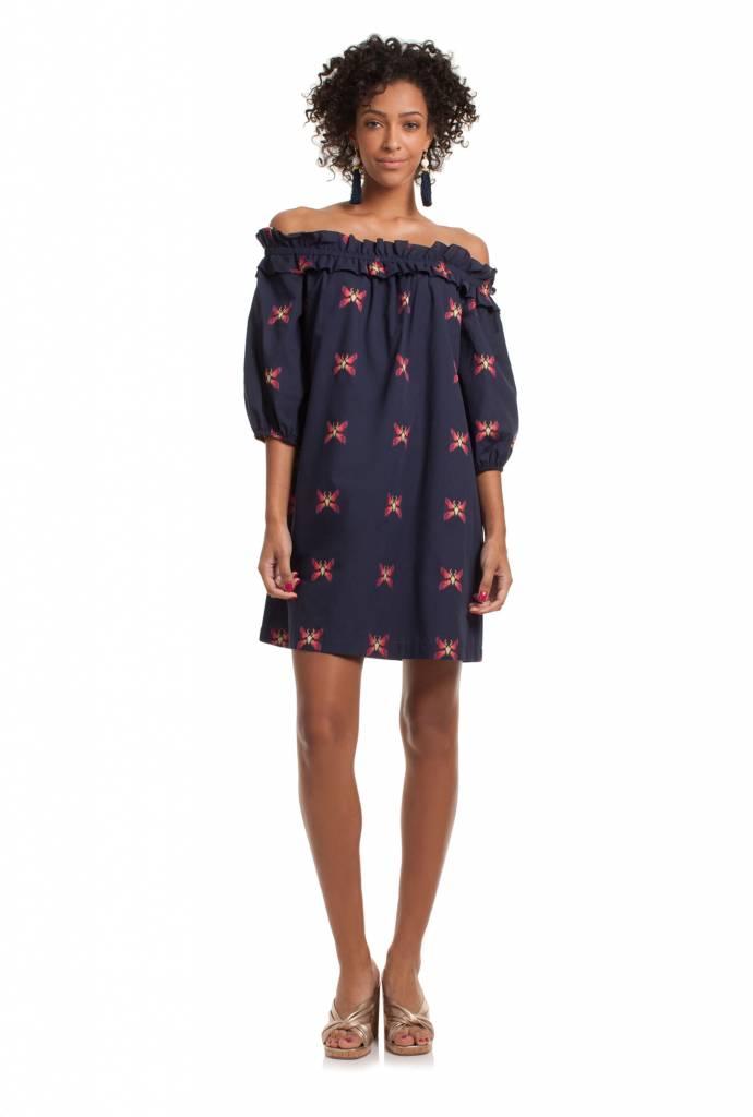 TRINA TURK ANTHURIUM DRESS