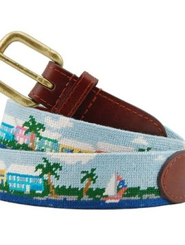 ISLAND TIME NEEDLEPOINT BELT