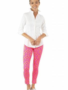 GRETCHEN SCOTT GRIP LESS COTTON SPANDEX JEAN - RIO GIO