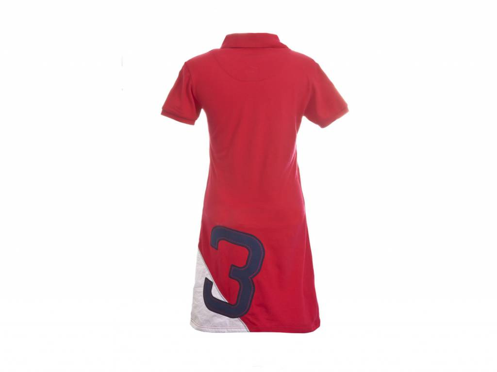 Spirit of Brittany Spirit of Brittany Polo Dress-Red-SM