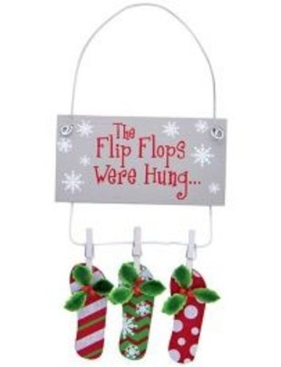 cape shore Ornament - The Flip-Flops Were Hung