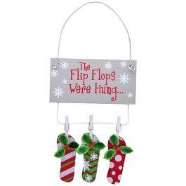 cape shore Ornament - The Flip-Flops Were Hung