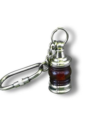 "Global Imports ""Ship Lantern"" Keychain"