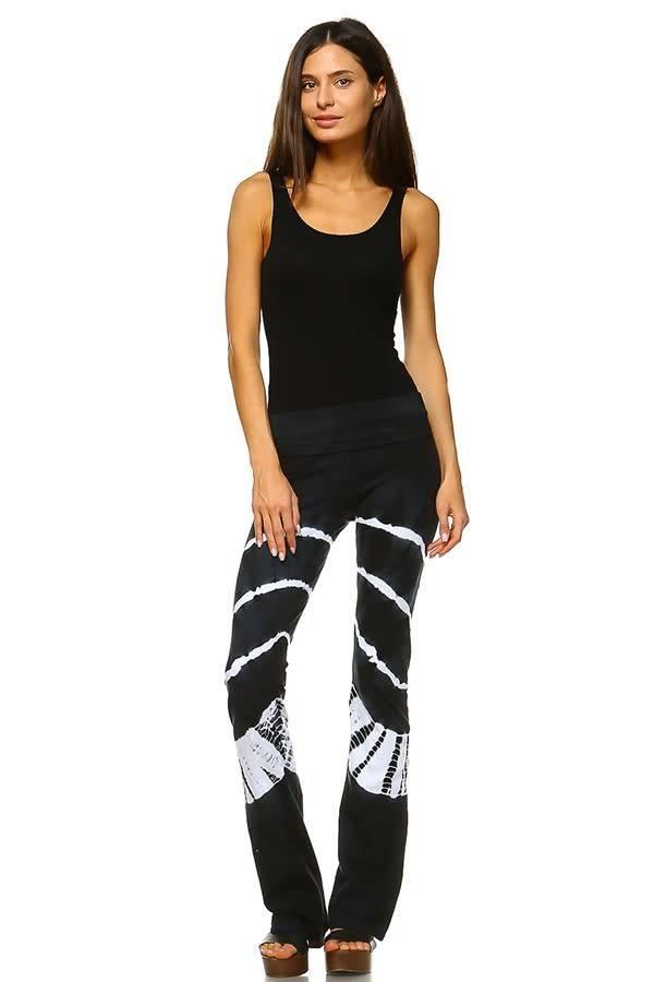 Tie-Dye Yoga Pant Multi-Colored