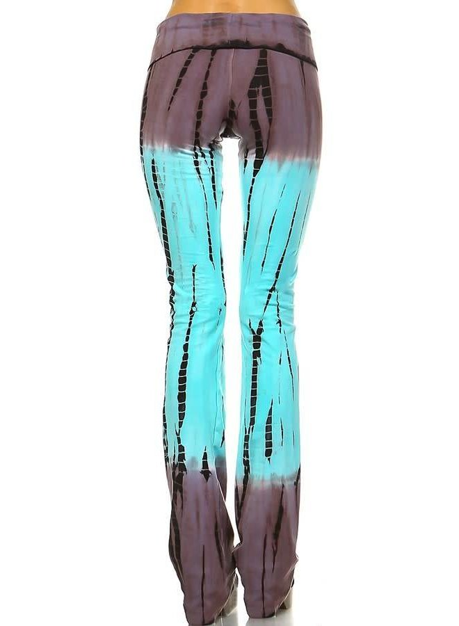 Tie-Dye Yoga Pant Multi-Colored
