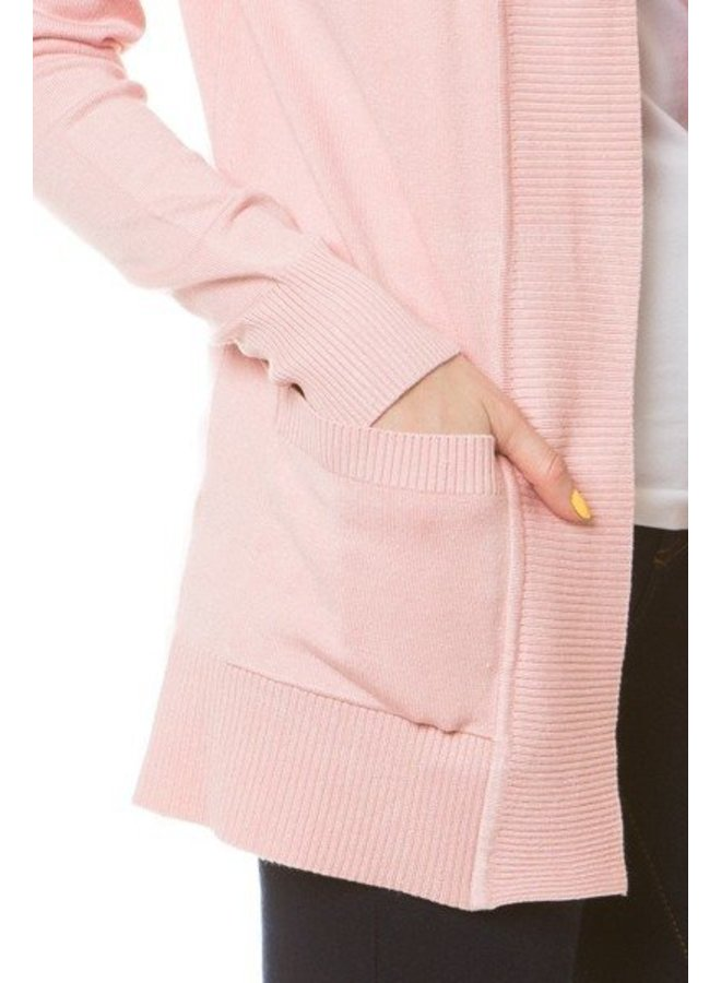 Fashion Knit Cardigan Drape