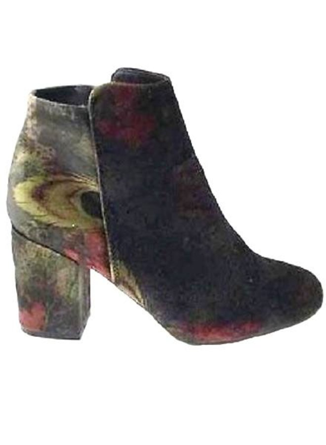 Black Multi Bootie