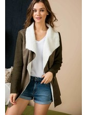 Lapel Coat Cardigan