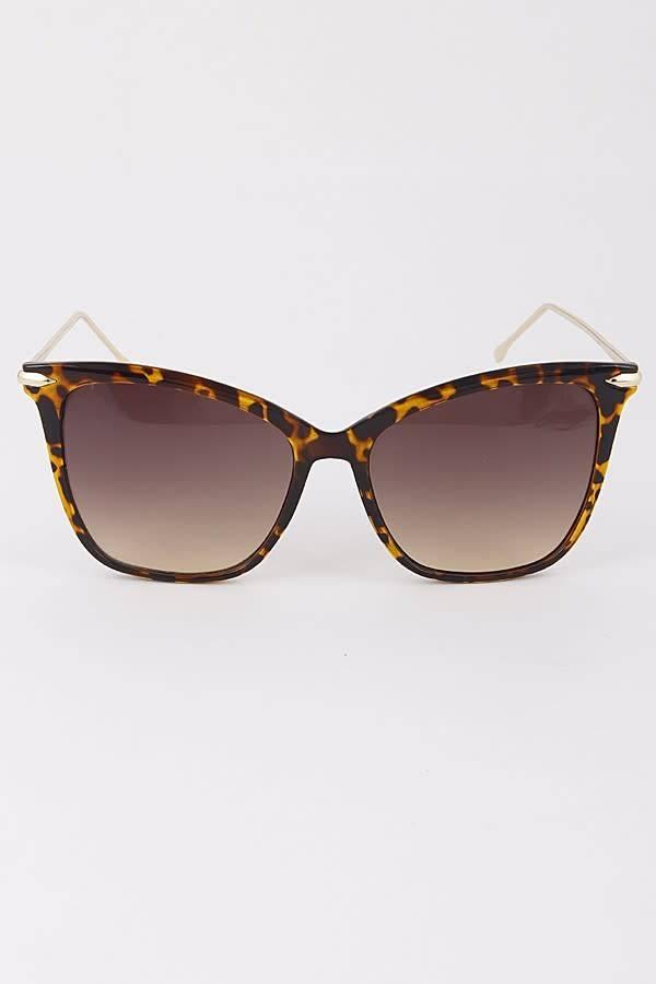 Framed Tinted Sunglasses