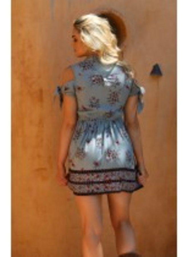 Desert Print Dress