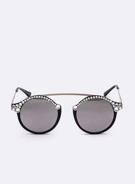 Artini Crystal Ornate Sunglasses