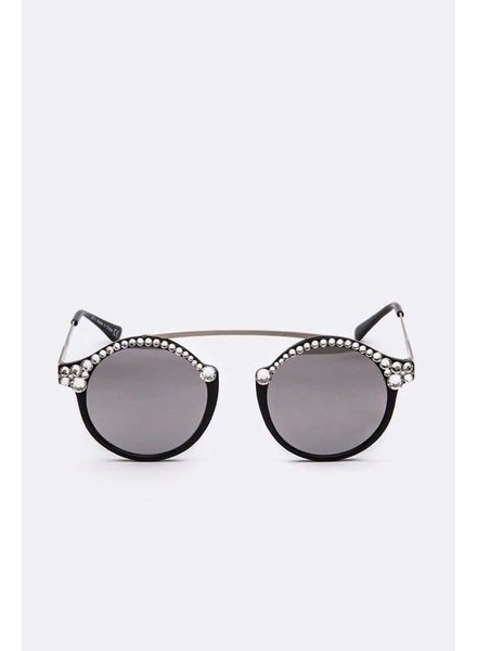 Artini Crystal Ornate Sunglasses