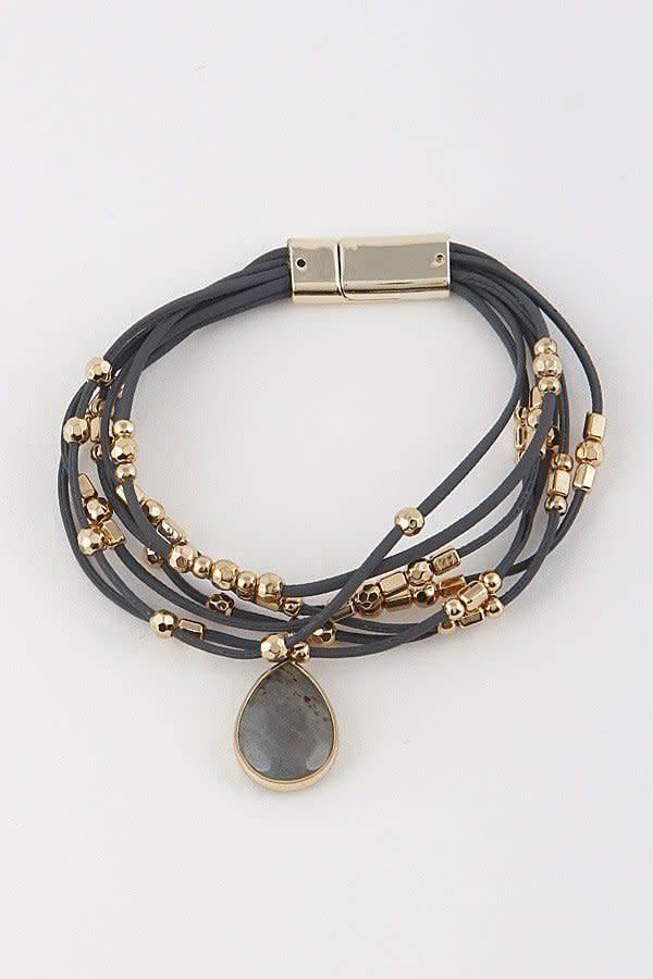 Oval Stone Bracelet