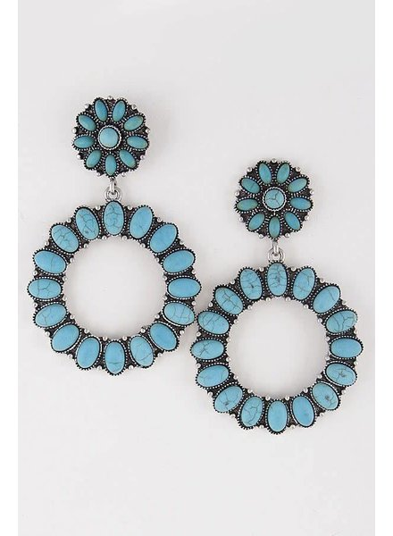 Western Stone Earrings