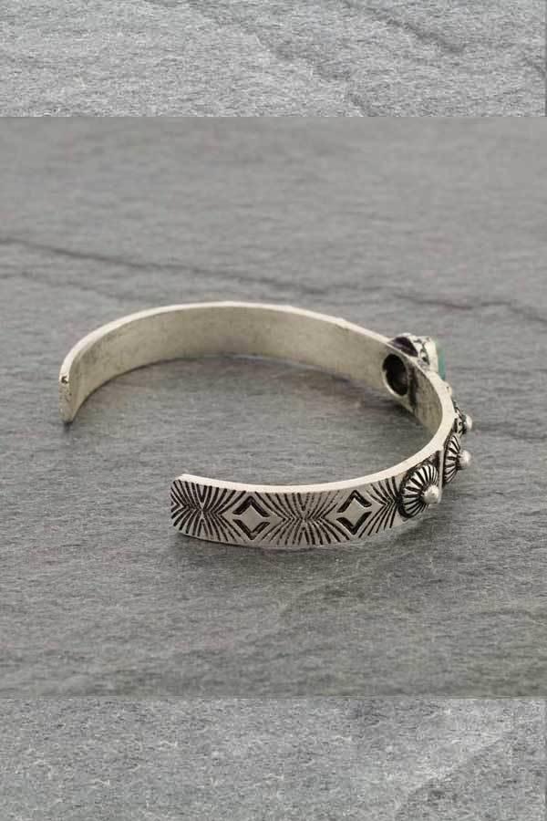 C Cuff Silver Bracelet